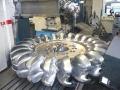 Usinage roue pelton