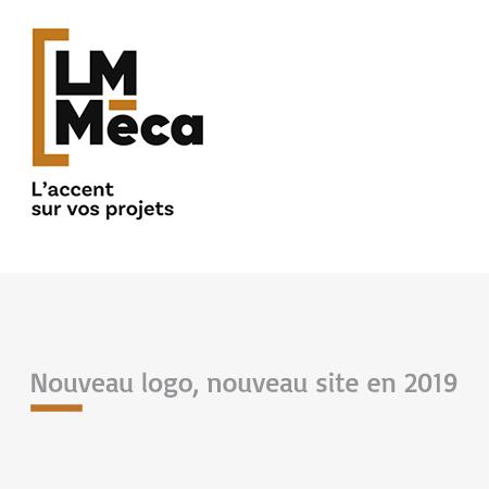 LM Méca : Nouveau Logo, nouveau site en 2019